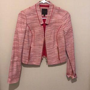 Tweed Suit Jacket w Zipper